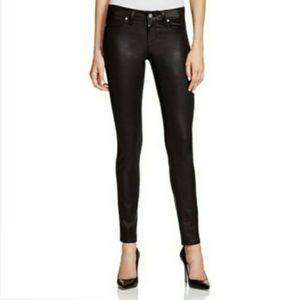 Paige Pandora Peg Skinny Coated Jeans - Women's